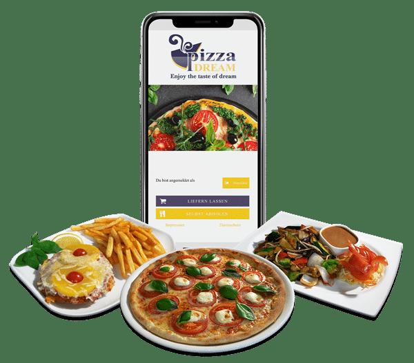 Pizza Dream App